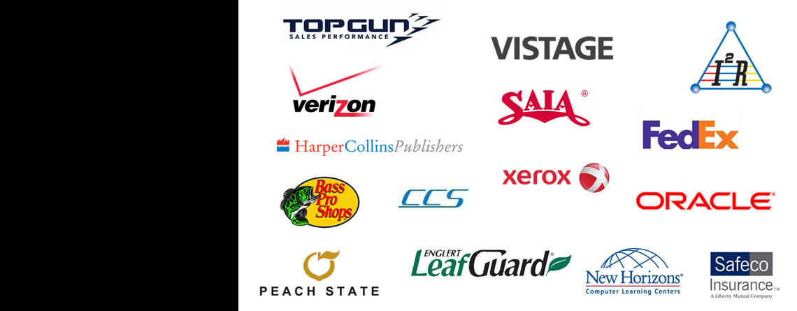 Our clients are World-Class Companies.